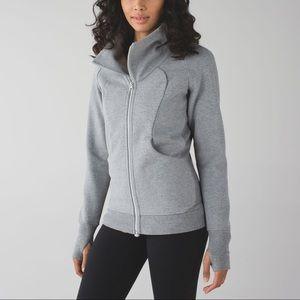 Lululemon Cozy Cuddle Up Jacket Gray Size 6